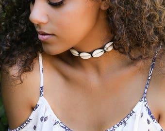 Cowrie Shells Choker - SUMMER Necklace