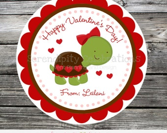 Printable Valentine Cards, Turtle Valentine's Day Cards, Classroom Cards, Valentine's Day,  Kids Valentine Cards, DIY Valentine's Cards