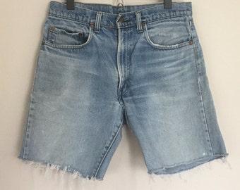 Vintage Levis 505 Jean Shorts