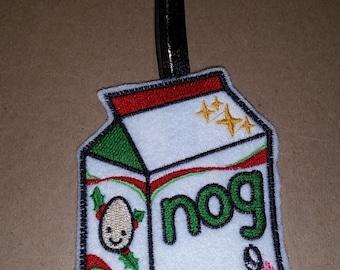 Kawaii Egg Nog Ornament