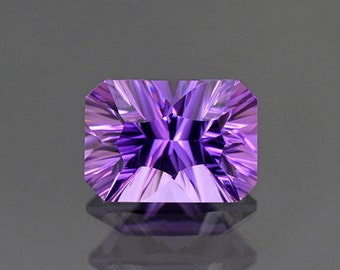 Excellent Rich Purple Amethyst Gemstone from Bolivia 6.13 cts.