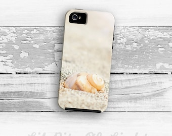 Beach iPhone 7 Case - iPhone 6s Plus Cover - iPhone 5s Case - Sea Shell iPhone 7 Plus Case - iPhone 6 Case - iPhone 4/4s Case -  iPhone Case