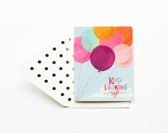 Keep Looking Up Card