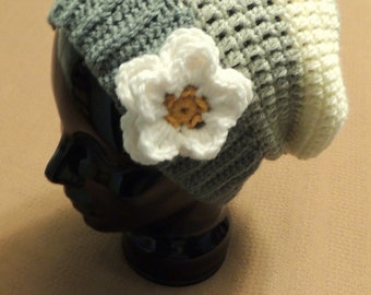 Crochet Tiana Inspired Slouchy Hat - Hipster Tiana - Princess Tiana -Disney Hat - Princess and the Frog - Gifts Under 25
