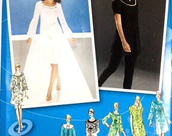 Simplicity 3530, Women's Dress or Tunic Pattern, Project Runway, Size 14, 16, 18, 20, 22, Uncut Pattern