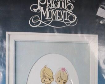 "Paragon Needlecraft- Precious Moments Embroidery Kit  ""Bride & Groom"""