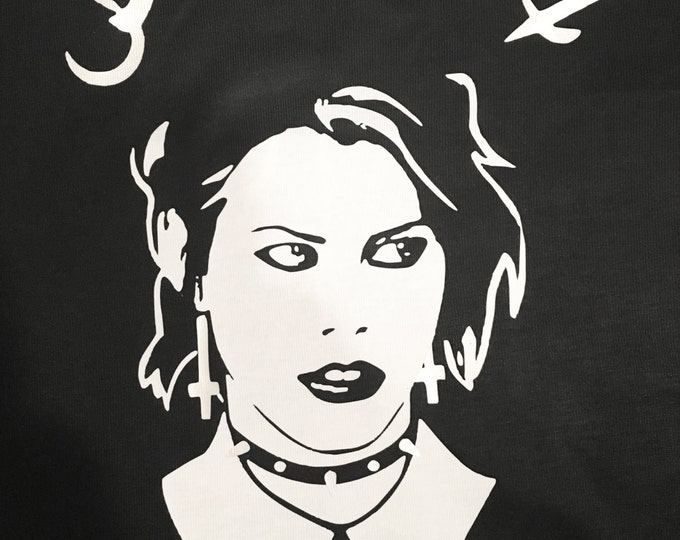 Nancy The Craft - Fairuza Balk- Weirdos- Bitches Movie - T-Shirts / Dress/ Tops