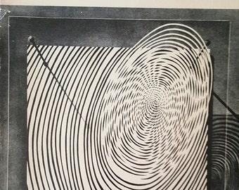 Vintage art book:  Kinetic Art by Guy Brett, 1968