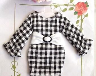 Blythe Pullip Dal Doll Handmade Dress Scott