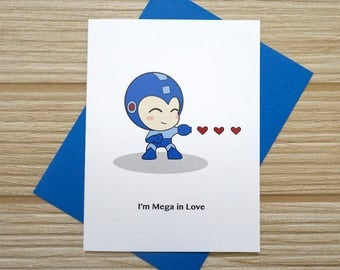 Mega In Love Card
