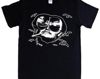 FEAR AND LOATHING In Las Vegas - S - 5XL T-shirt - Raoul Duke, bats - Screen printed not transfer