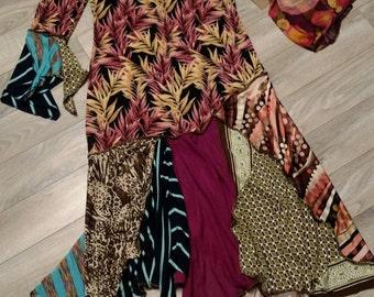 TATTERED REVIVAL Upcycled Dress M/L