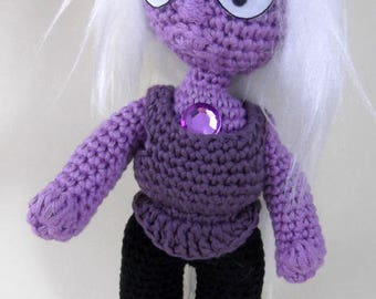 Amigurumi pattern PDF Amethyst (English)