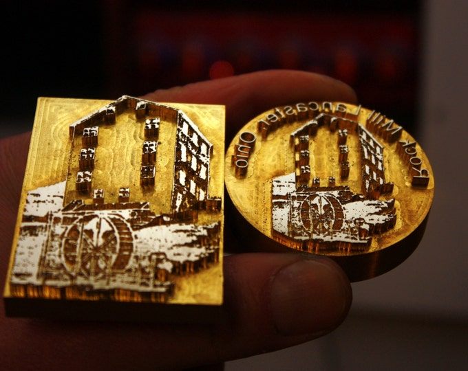 Custom Branding Iron produced by photo - made of brass - DHL worldwide 1-5 days