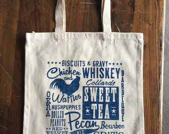 Southern Foods tote bag