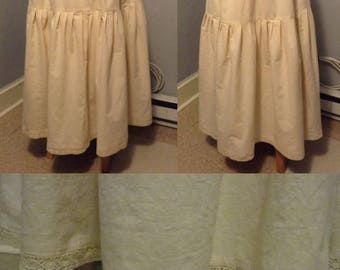Simple/Modest Petticoat