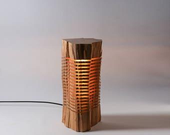 Light Sculpture Reclaimed Wood