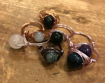Wirewrapped Ring (Custom)