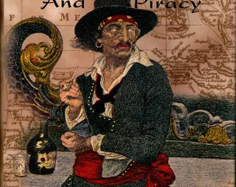 Arrrrgh Who Loves Pirates? Learn something about the real ones and their history in this vintage illustrated book