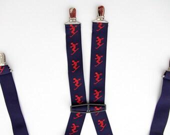 Vintage Suspenders // PANTHER Skier Suspenders