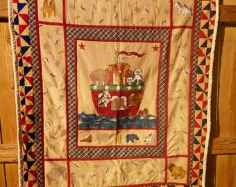 Noahs Ark baby quilt/wallhanger