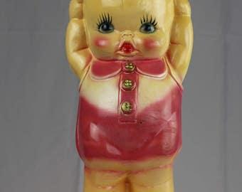 Large Chalkware Kewpie Doll
