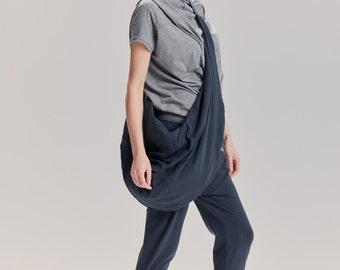 Oversized Muted Blue Bag / Arya Yoga Bag / Yoga Accessory / Arya Yoga / Yogawear / Cross-Body Oversized Bag  by AryaSense / YB16MB
