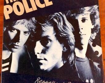 Vintage The Police Regatta De Blanc