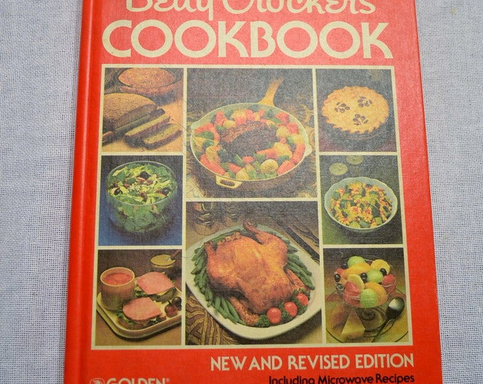 Vintage Betty Crocker Cookbook 1982 Recipe Book Hard Cover Gift for Cook Wedding Shower PanchosPorch