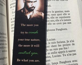 Luke Garroway quote - Shadowhunters, Lucian Graymark, Isaiah Mustafa, Mortal Instruments by Cassandra Clare bookmark