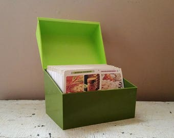 Betty Crocker Recipe Card Library 1971 A Through X