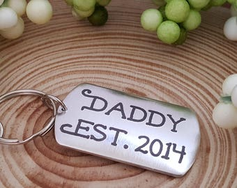 Engraved Key Chain for Dad | Father's Day Present | Gift for Dad | Gift from Kids | Gift from Children