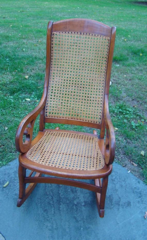 vintage rocker vintage victorian rocking chair victorian. Black Bedroom Furniture Sets. Home Design Ideas
