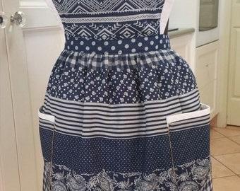 Country Classic ladies fine denim apron