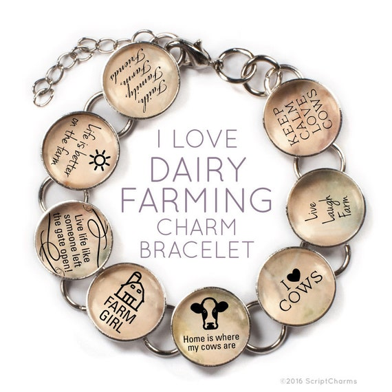 my eight cow bracelet Are charms are available in gold or silver and make a great addition to any charm necklace or bracelet - 647pg67375 order by phone: (877) 703-1143 or int +1 (718) 667-4713 9am to 11:59pm, 7 days my account - cow charm is approximately 1/2 x 1/2 - if a charm is very long then the.