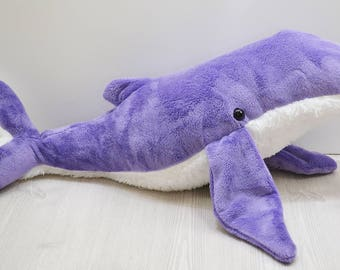 Humpback Whale Plush Purple Large *Personalization available!!
