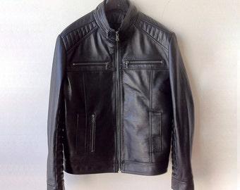 Men jacket • leather jacket • jacket • black leather jacket • biker jacket • mens leather jacket • black jacket • custom jacket