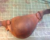 Viking inspired leather eyepatch