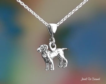 """Sterling Silver Labrador Retriever Necklace 16-24"""" or Pendant Only 925"""