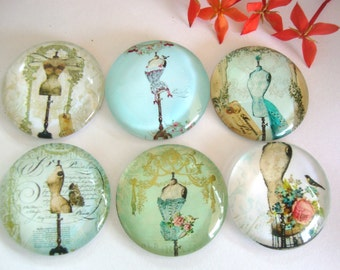 25mm Glass Dome Cabochons