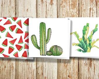 3x3 Variety Desert Pack - 3 cards