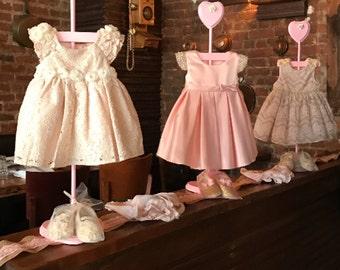 Flower Baby Shower Centerpiece - Dress Hanger