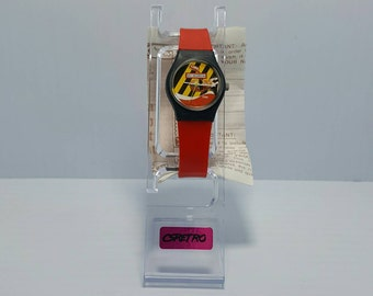 Max Headroom Coca Cola Coke Watch - 1987 - as is
