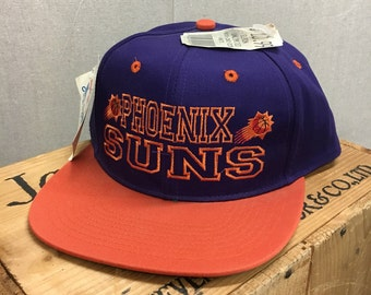 Vintage 90's Phoenix Suns NBA New with Tag Snapback Hat