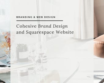 Custom Logo, Brand Identity, Marketing Materials, Squarespace or WordPress Web Design for the Online Entrepreneur or Small Business Owner