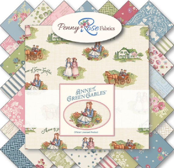 Classic Anne Of Green Gables Penny Rose Fabrics