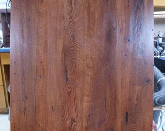 Barn Wood Farm House Table Top 30'' x 30'' x 1.5''