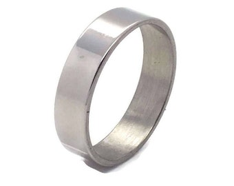Stainless Steel Wedding Band, Stainless Steel Ring, Mens Rings, Womens Rings, Wedding Rings, Wedding Bands, Stainless Steel Ring, Steel Ring