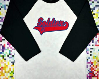 Team Soldier 76 Baseball Tee