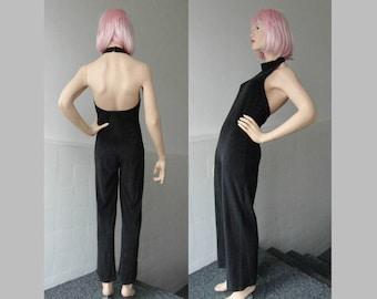 Comfortable 70s Terry Cloth Vintage Jumpsuit // Jer-Sey Of Sweden // Hans Heitsch Design // Size 38 // Made In Sweden
